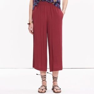 MADEWELL Clement Pull-On Cropped pants size XS